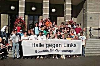 "Halle gründet ""Bündnis gegen Links"""