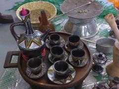 Kaffee ist unser Brot / Die äthiopische Kaffeezeremonie