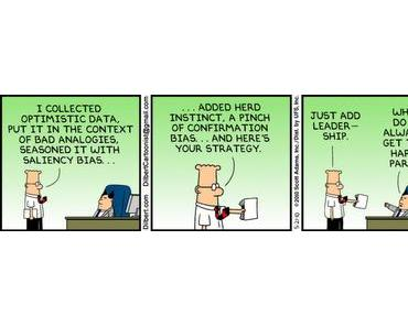 Dilbert über Judgment and Decision Making