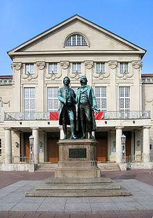 Nationaltheater in Weimar, Bildquelle: Wikipedia