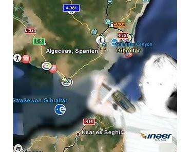 Über die Meerenge von Gibraltar in 7 Minuten