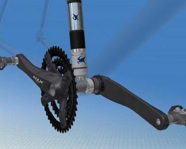 Elektromotor für das Fahrrad zum Nachrüsten