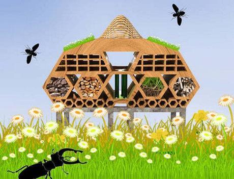 Ein herz für insekten – bienen und käferhotels in london