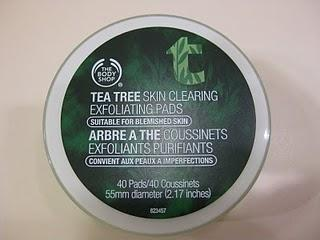 The Body Shop Tea Tree Peelingpads