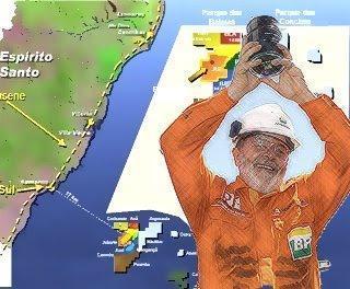 Lula dreht im Park der Wale den Ölhahn auf