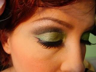 Poison Ivy Tutoral - Greeeeeen Eyes