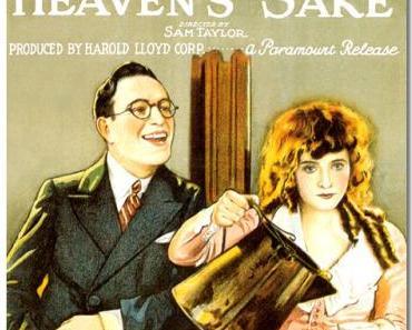 """""""FOR HEAVEN'S SAKE"""" (1926)"""