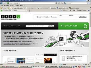 GRIN Verlag startet ein Wissensnetzwerk