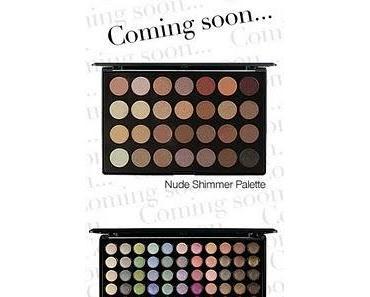 Neu von Zoeva: Nude Shimmer + Cool Shimmer Palette