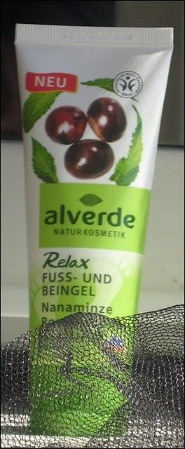 Review: Alverde Fuss- und Beingel