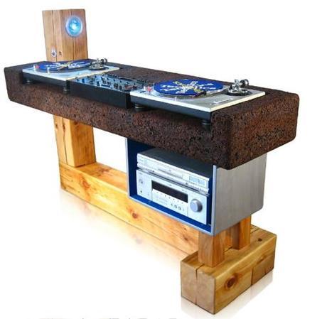 recycling dj pult. Black Bedroom Furniture Sets. Home Design Ideas