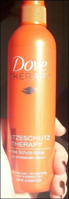 Review: Dove Therapy Hitzeschutzspray