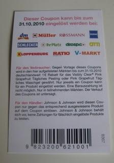 Neutrogena Visibly Clear Pink Grapefruit: 1€ sparen mit Coupon