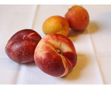 Crumble aux abricots, nectarines et sarrasin
