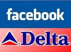 Facebook und Delta: Flug bestellen via Facebook Fan Seite