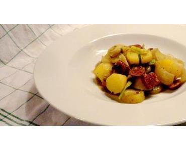 essen und trinken: Landjäger-Kartoffel-Eintopf