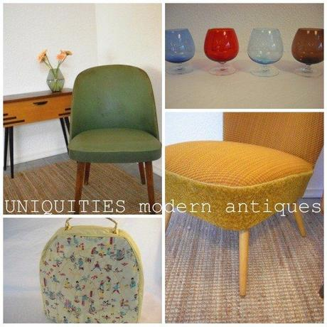Retrofriday...with vintage furniture by UNIQUITIES