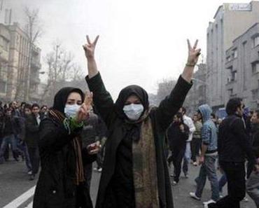 Demonstrationen im Iran am 25. Bahman