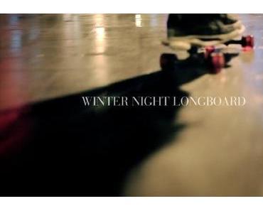 Winter Night Longboarding in Madrid