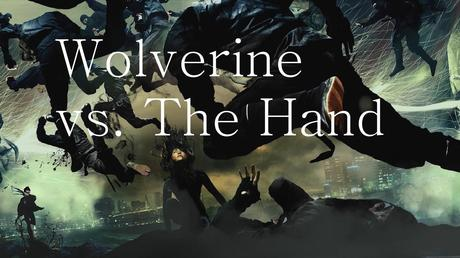 Wolverine Vs The Hand