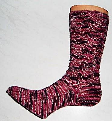 Wellensocken Gr. 39