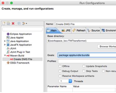 Wie können auf einem Mac OS X dmg (Apple disk image) Archive mit Maven und hdiutil erstellt werden?
