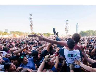 Rock In Vienna 2015: Feuer, Selbstinszenierung und wenig dahinter?