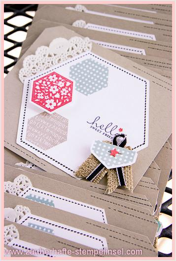 Stampin Up_Six-Sided Sampler_Stanze Sechseck