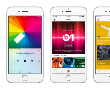 Apple Music mit redaktionell gepflegten Playlisten
