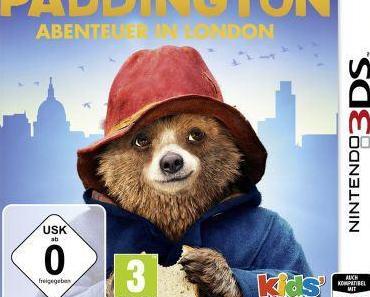 Paddington Bär, Lucky Luke, Garfield und Yakari ab 26. Juni für Nintendo 3DS