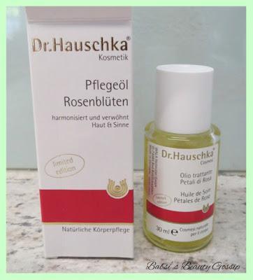 Review: Dr. Hauschka Öl + Lippenbalsam