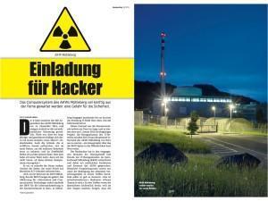 Mühleberg: Computer-Sicherheit ade