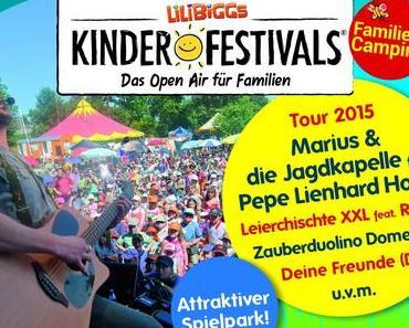 Lilibiggs Kinder-Festivals: Das Open Air für Familien