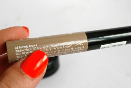 [Review] essence - make me brow (& MAC Omega) | die Madame hat Augenbrauen