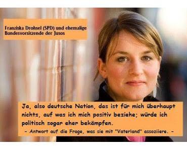 Nachwuchspolitikerin des Tages: Franziska Drohsel (SPD)