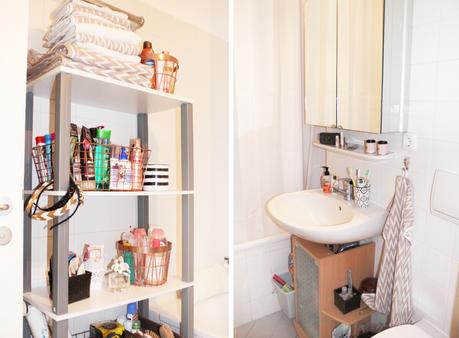 Roomtour mein badezimmer meine bad aufbewahrung und was for Mein badezimmer