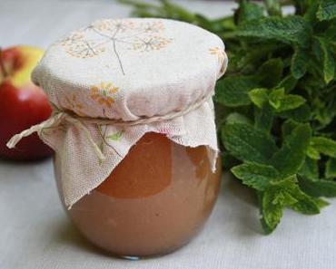 [vegan] Rhabarber-Minze Marmelade