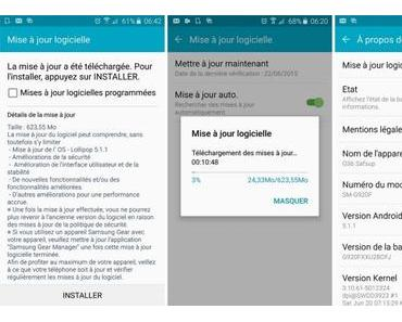 Samsung Galaxy S6 (edge): Android 5.1.1 Lollipop wird in Europa verteilt