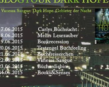 [Blogtour] Vanessa Sangue - Dark Hope