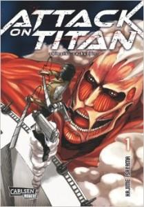 Attack on Titan Band 1-7 [Rezension]