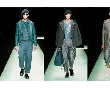 Emporio Armani Menswear – Frühjahr-Sommer 2016