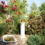 Unser Garten im Juli 2015 – eine Teilansicht