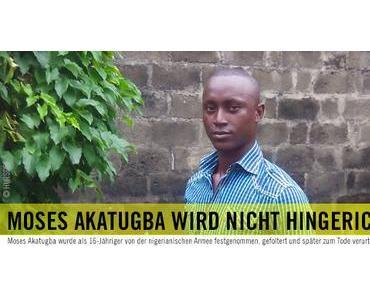 Amnesty international: Moses Akatugba (Nigeria) wird freigelassen