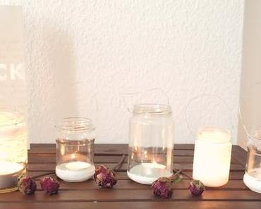 DIY - upcycling Windlichter
