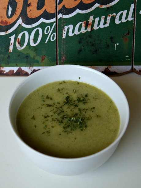 [vegan] Blumenkohl-Brokkoli Suppe
