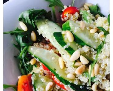 Vegan Power-Quinoa-Salad (light & easy)