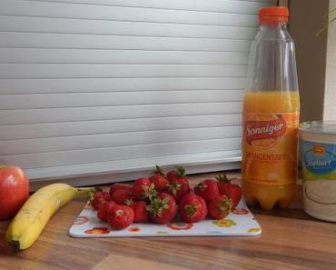 [Recept] Leckerer Apfel-Banane-Erdbeer-Smoothie
