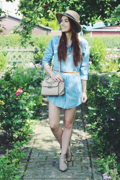 OOTD: Denim Dress