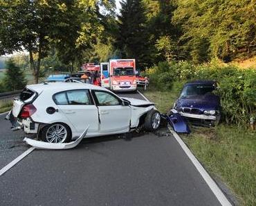 Schwerer Autounfall Reichshof
