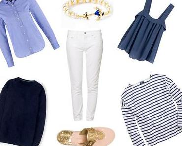 SUMMER FAVORITES: WHITE AND BLUE